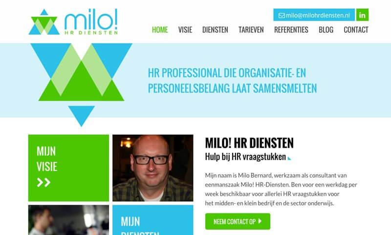 Portfolio Milo! HR diensten