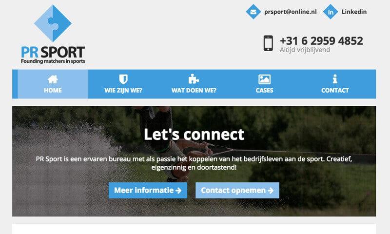 Website PR Sport