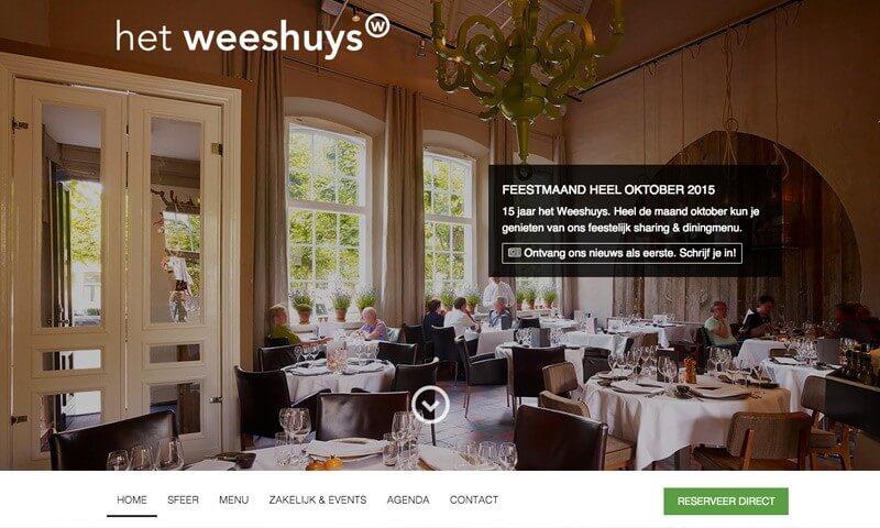 Weeshuys website