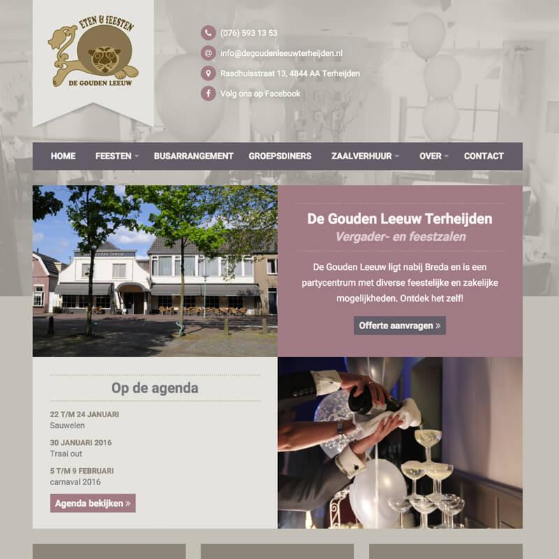 Project de Gouden Leeuw website