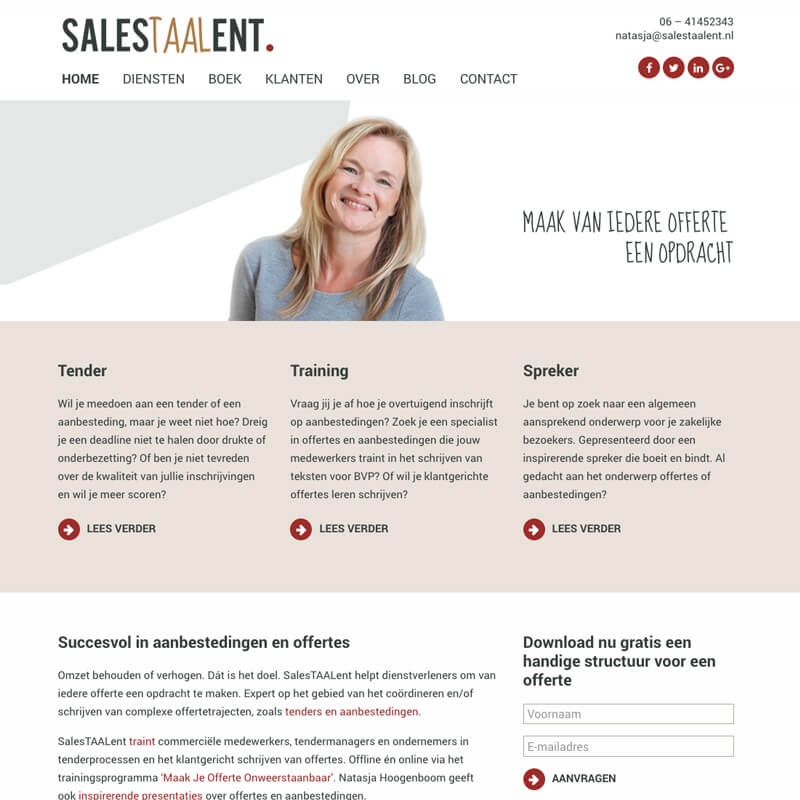 Project SalesTAALent