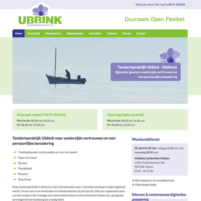 Project Tandartspraktijk Ubbink