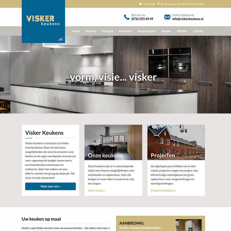 Project Visker Keukens